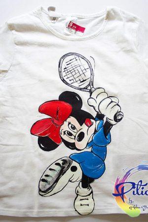 Minnie Mouse Tricouri pictate manual