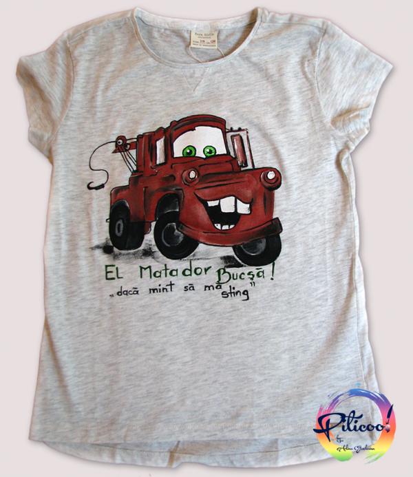 Bucsa tricouri pictate manual pentru copii