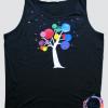 Tricouri personalizate Copac pictat manual