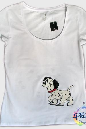 101 Dalmatieni tricouri pictate pentru adulti
