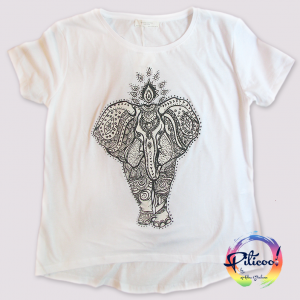 Tricou personalizat Elefant pictat manual