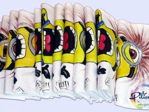 Minions tricouri personalizate, pictate manual, pentru adulti - piticool.com