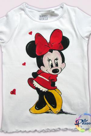 Minnie Mouse tricouri pictate pentru copii