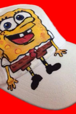 Sapca pictata pentru copii Sponge Bob