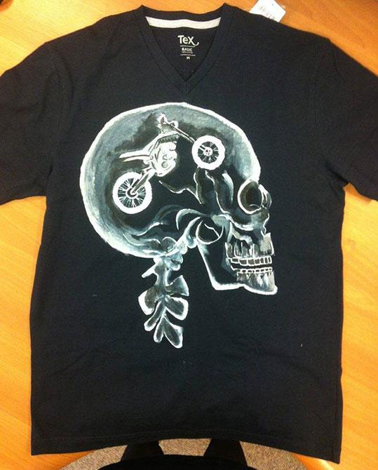 Tricouri pictate pentru adulti Rider