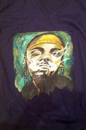 Tricouri pictate pentru adulti Smoke