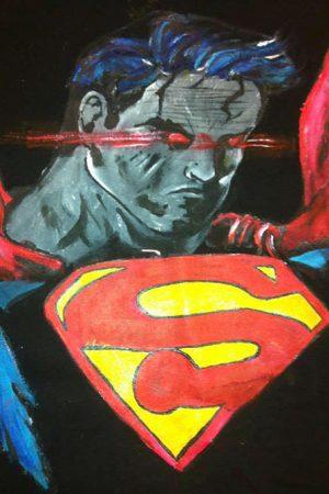 Tricouri pictate pentru adulti Superman