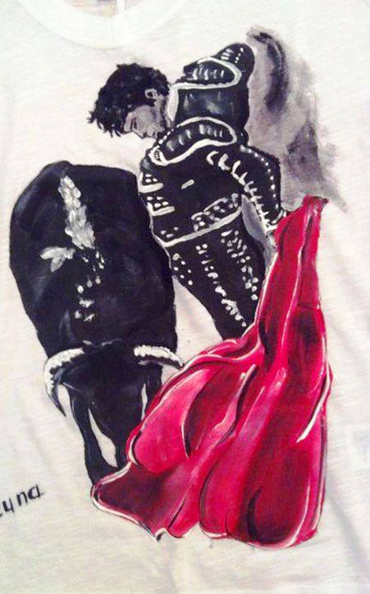 Tricouri pictate pentru adulti Toreador