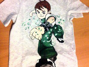 Tricouri pictate pentru copii Ben ten