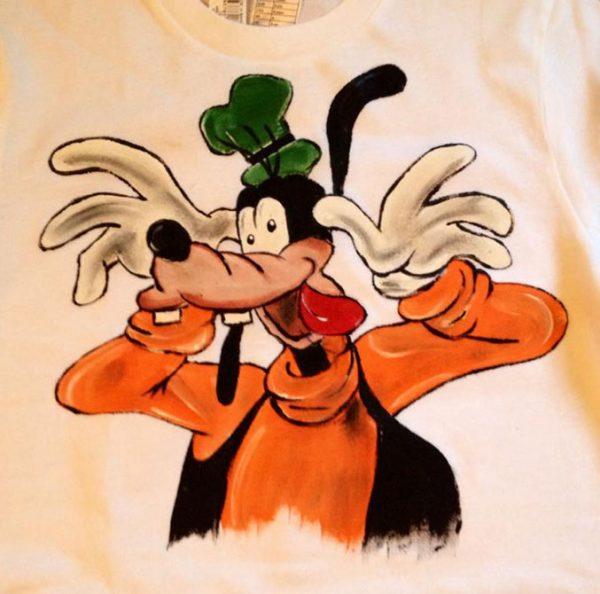 Tricou pictat pentru copii - Gufy