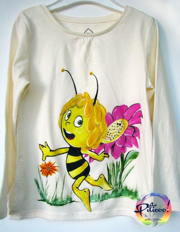 Tricouri personalizate pentru copii Albinuta Maya