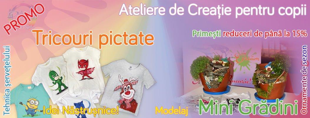 Ateliere de creatie copii - www.piticool.com