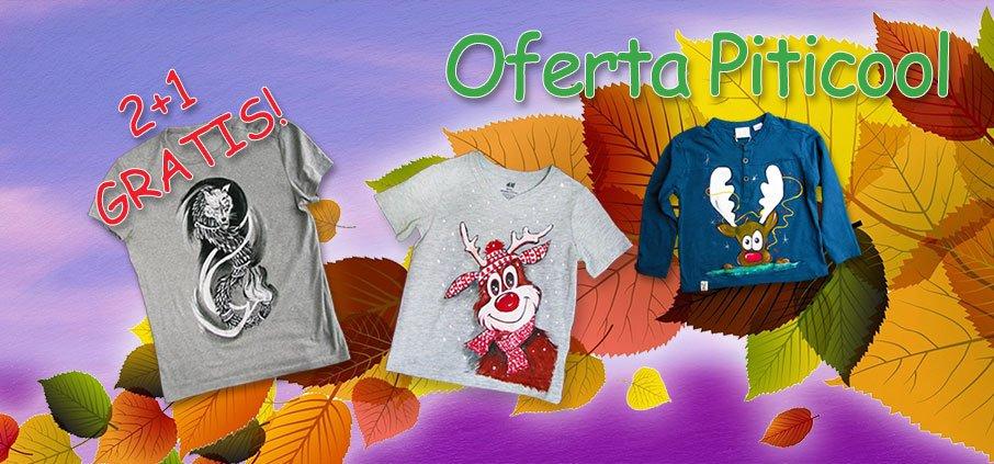 Oferta tricouri pictate Piticool.com