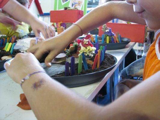 Ateliere de creatie copii - Mini Gradini | Piticool ART - www.piticool.com