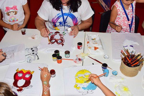 Atelier de creatie Piticool - Tricouri pictate | www.piticool.com
